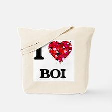 I Love My BOI Tote Bag