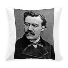 friedrich nietzsche Everyday Pillow