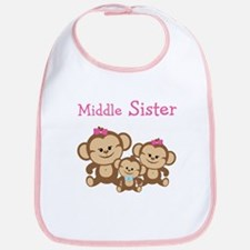 Middle Sis W. Siblings Bib