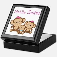 Middle Sis W. Siblings Keepsake Box