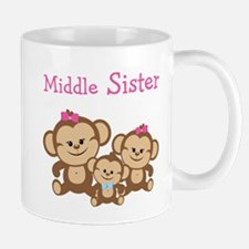 Middle Sis W. Siblings Mug Mugs