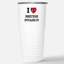 I Love My BRITISH INVAS Travel Mug