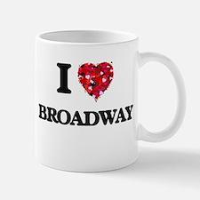 I Love My BROADWAY Mugs