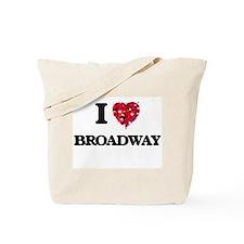 I Love My BROADWAY Tote Bag