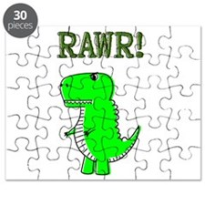Cute Angry T-Rex RAWR Puzzle