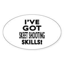 Skeet Shooting Skills Designs Decal