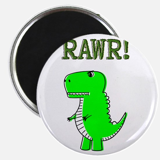 Cute Angry T-Rex RAWR Magnets