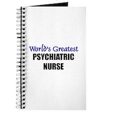 Worlds Greatest PSYCHIATRIC NURSE Journal