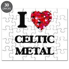 I Love My CELTIC METAL Puzzle