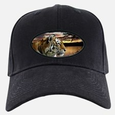 Sunset Tiger Baseball Hat