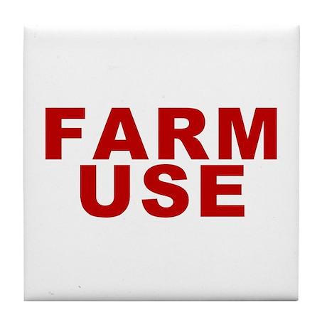 Farm Use Tile Coaster