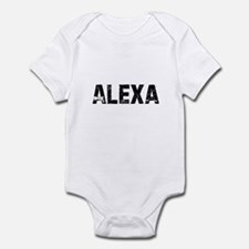 Alexa Infant Bodysuit