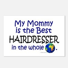 Best Hairdresser In The World (Mommy) Postcards (P