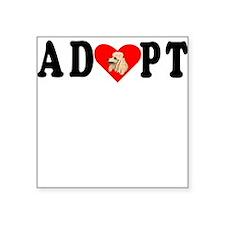 Adopt Poodle Sticker