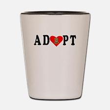 Adopt Shar Pei Shot Glass