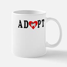 Adopt Papillon Mugs