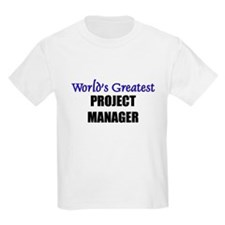 Worlds Greatest PROJECT MANAGER T-Shirt
