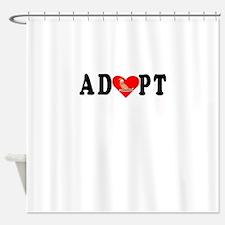 Adopt Collie Shower Curtain