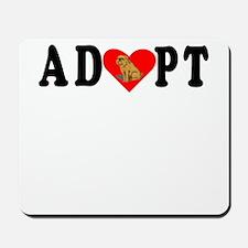 Adopt Brussels Griffon Mousepad