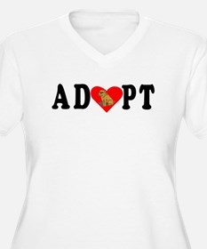 Adopt Brussels Griffon Plus Size T-Shirt