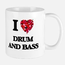 I Love My DRUM AND BASS Mugs