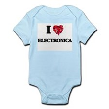 I Love My ELECTRONICA Body Suit
