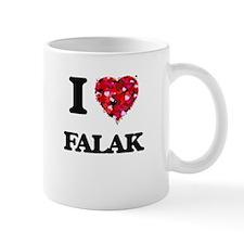 I Love My FALAK Mugs