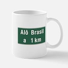 Alo Brasil, Brazil Mug