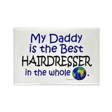 Best Hairdresser In The World (Daddy) Rectangle Ma