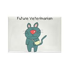 Future Veterinarian 3 Rectangle Magnet