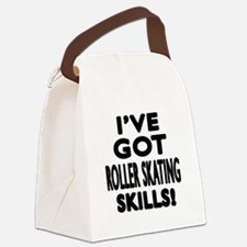 Roller Skating Skills Designs Canvas Lunch Bag