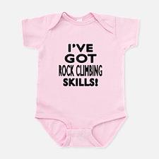 Rock Climbing Skills Designs Infant Bodysuit