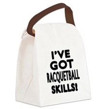Racquetball Skills Designs Canvas Lunch Bag