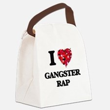 I Love My GANGSTER RAP Canvas Lunch Bag