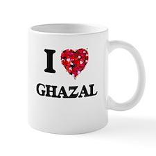 I Love My GHAZAL Mugs