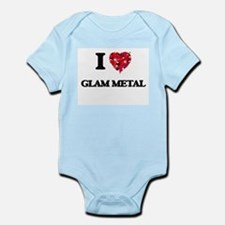 I Love My GLAM METAL Body Suit