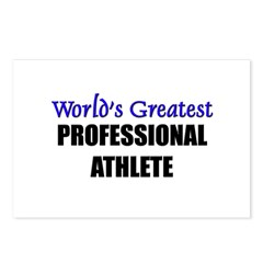 Worlds Greatest PROFESSIONAL ATHLETE Postcards (Pa