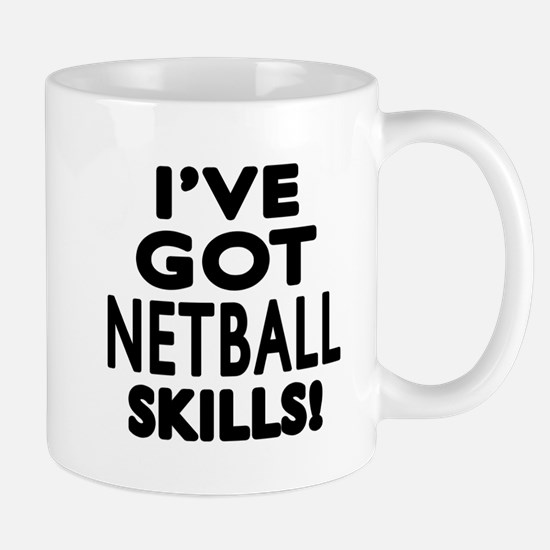 Netball Skills Designs Mug