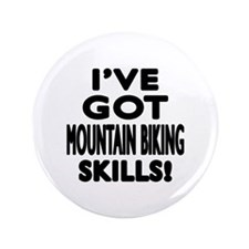 Mountain Biking Skills Designs Button