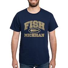 Fish Michigan T-Shirt