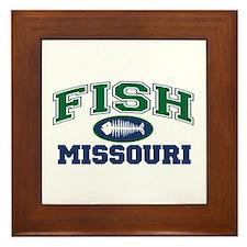 Fish Missouri Framed Tile