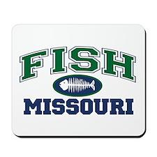 Fish Missouri Mousepad