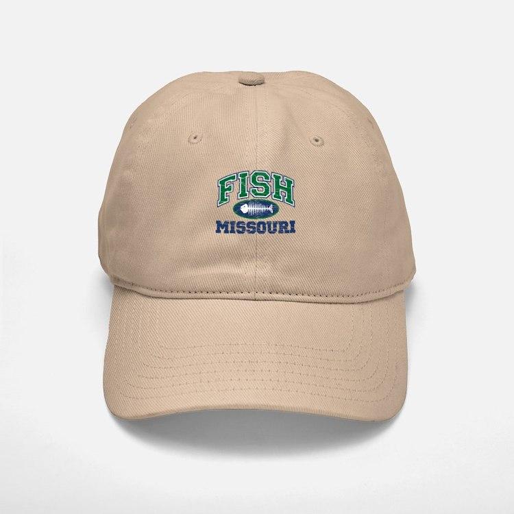 Fish Missouri Baseball Baseball Cap