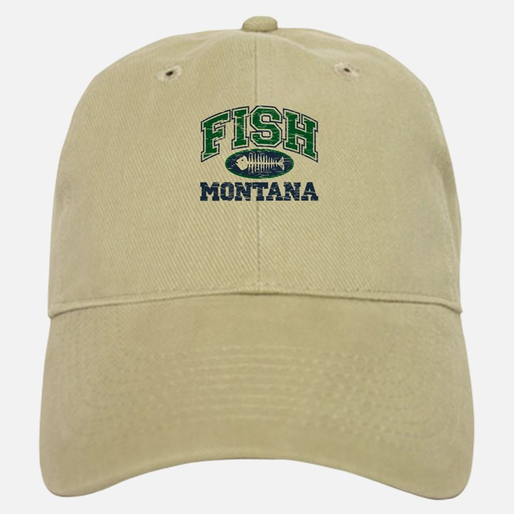 Fish Montana Baseball Baseball Cap