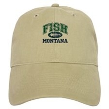 Fish Montana Baseball Cap