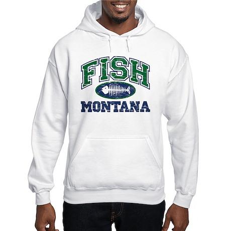 Fish Montana Hooded Sweatshirt