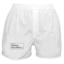 Camden High St, London, UK Boxer Shorts