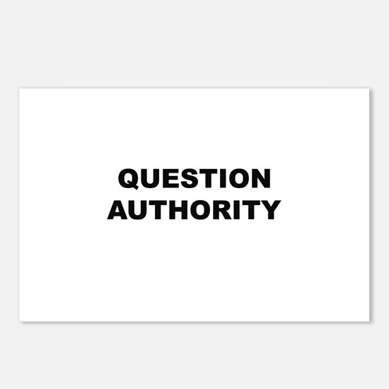 Question Authority Postcards (Package of 8)