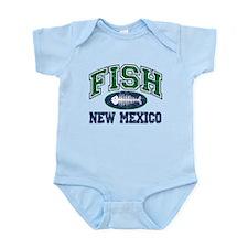 Fish New Mexico Infant Bodysuit