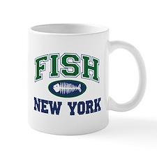 Fish New York Mug
